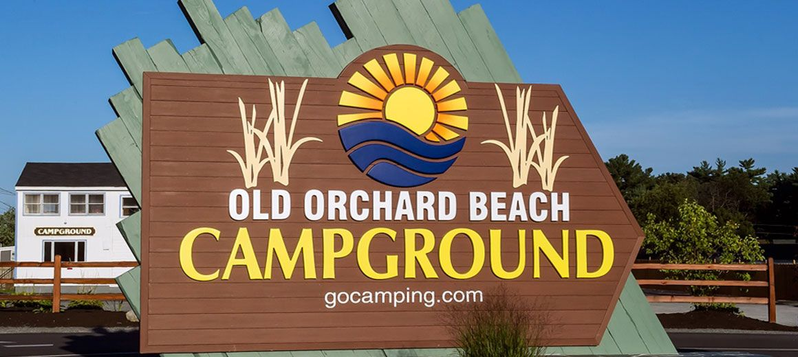 Camping Old Orchard Beach Campground Maine Vacation