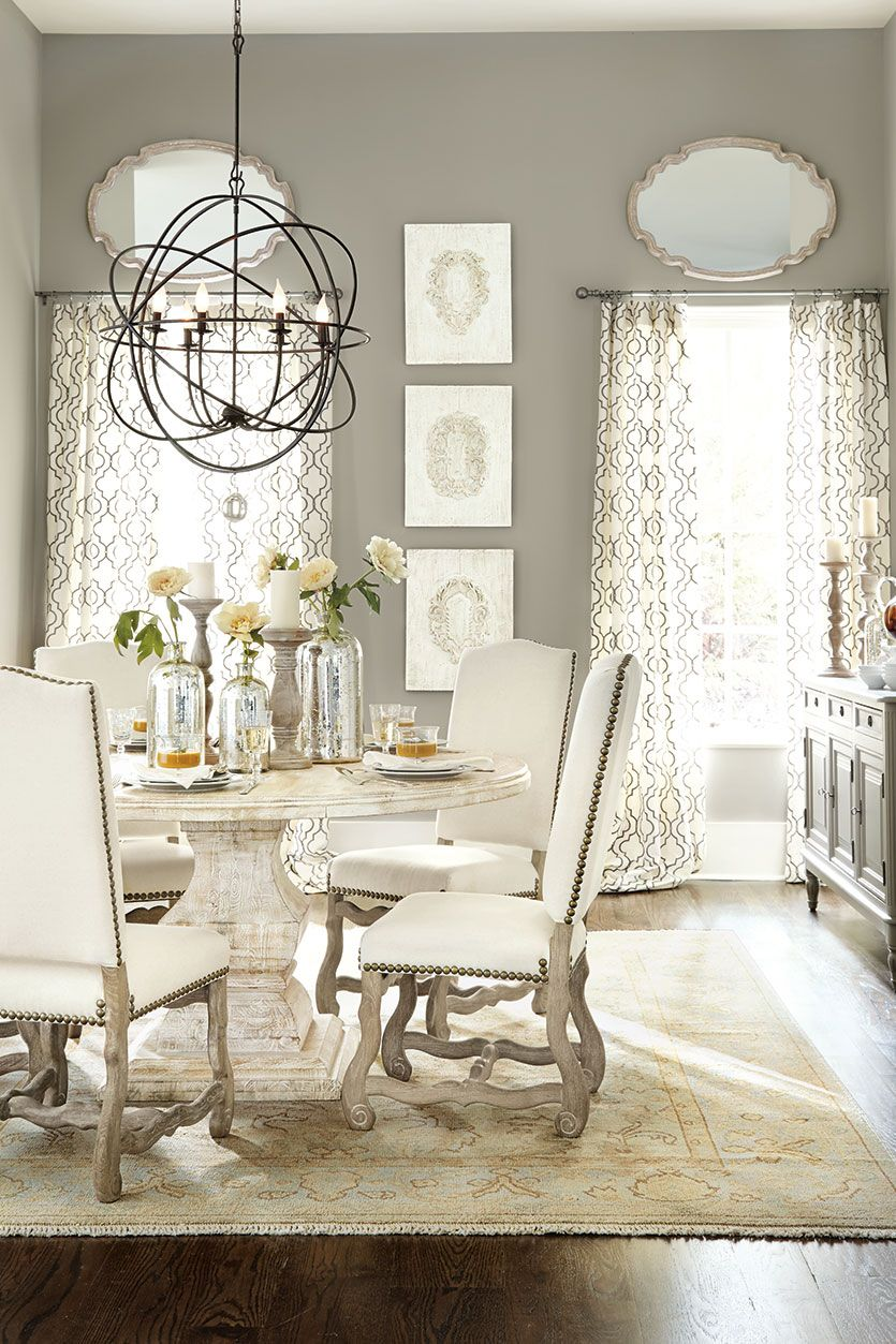 How To Select The Right Size Chandelier Gray Dining RoomsDining