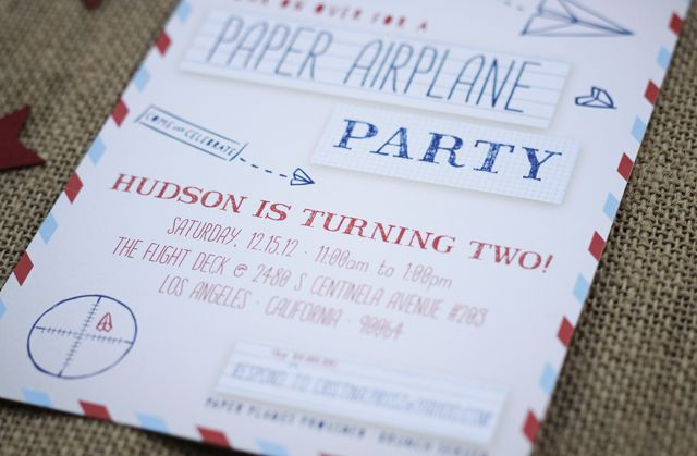 Paper airplane party party pinterest paper airplane party and paper airplane party paper airplane partyinvitation paperbirthday stopboris Image collections