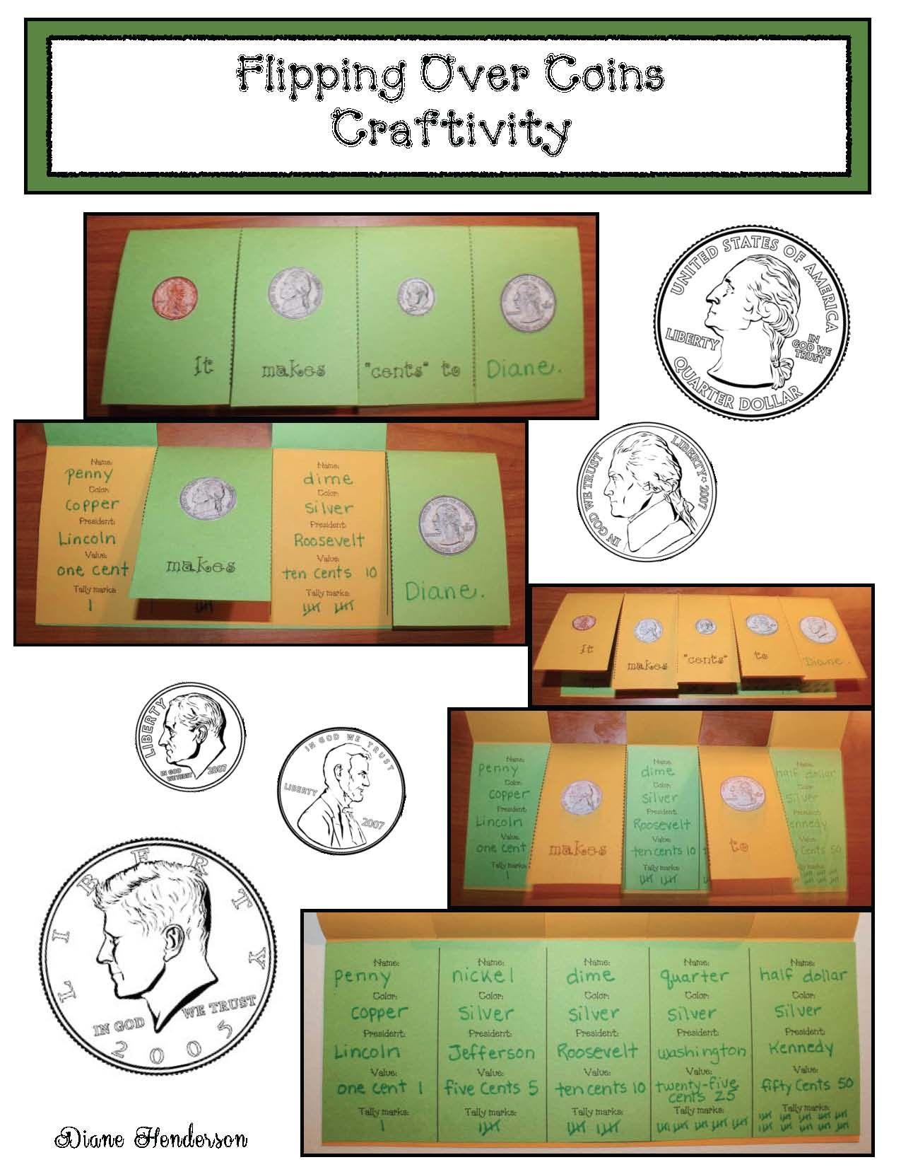Coin Flip Worksheet Kindergarten
