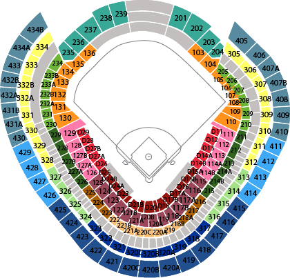 Yankee Stadium seating chart July 24th sfGiants vs Yankees ...