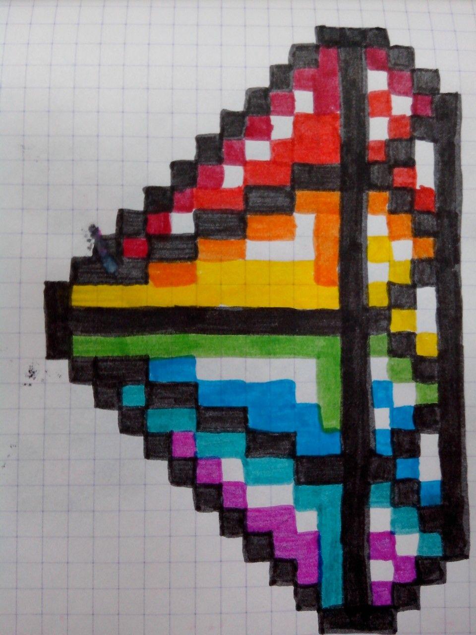 Pixel Art Pixel Art Embroidered Friendship Bracelet Art