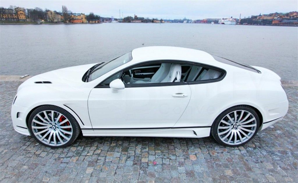 White Mansory Bentley Continental Gt 380k Vision Board