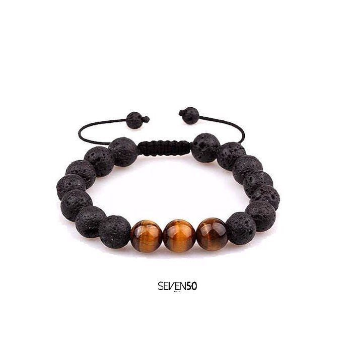 Presenting the new TIGER EYE AND LAVA BEADS BRACELET  from @charliem015 !! Check out #charliematthewsjewels new collection and use #iwearcharliematthews !  Shop now at http://ift.tt/2royvTQ #gold #rosegold #slim #womens #seven50 #seven50jewels #sevenfifty #750 #jewelry #jewels #jewel #fashion #rings #rings #trendy #accessories #love #beautiful #ootd #fashion #style #madeinitaly #italy #accessory #stylish #fashionjewelry #charliematthews