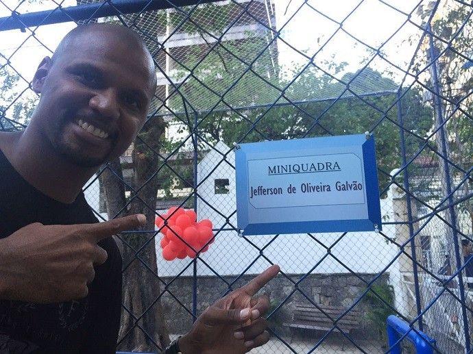 Jefferson, Botafogo, escola