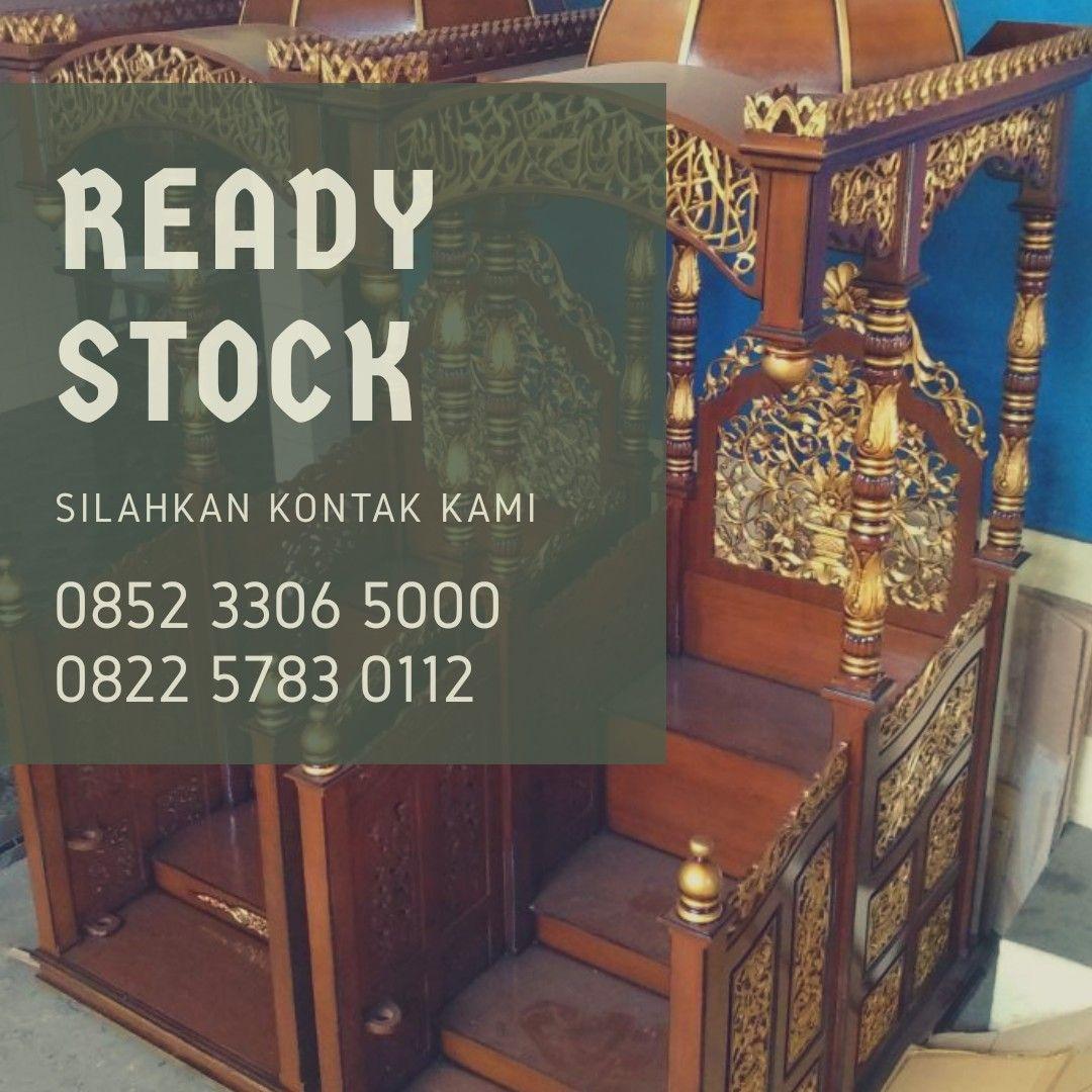 Kami sebagai produsen serta penjual mimbar masjid dari