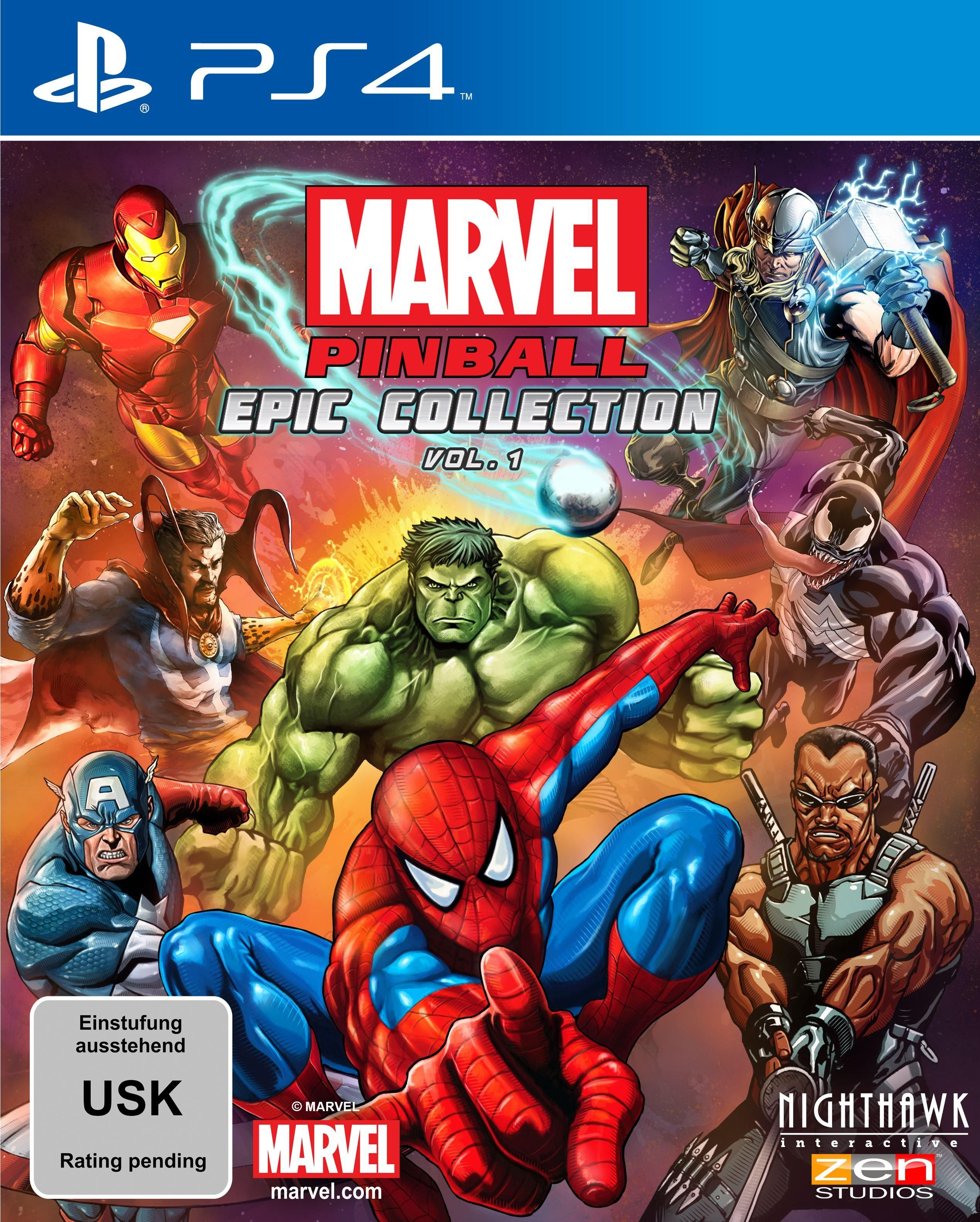 Marvel Pinball EPIC Collection Volume 1 [PlayStation 4