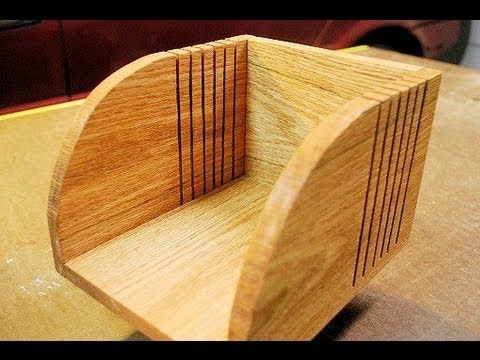 How to make a bagel bread slicer cutting box woodlogger diy woodworking solutioingenieria Choice Image
