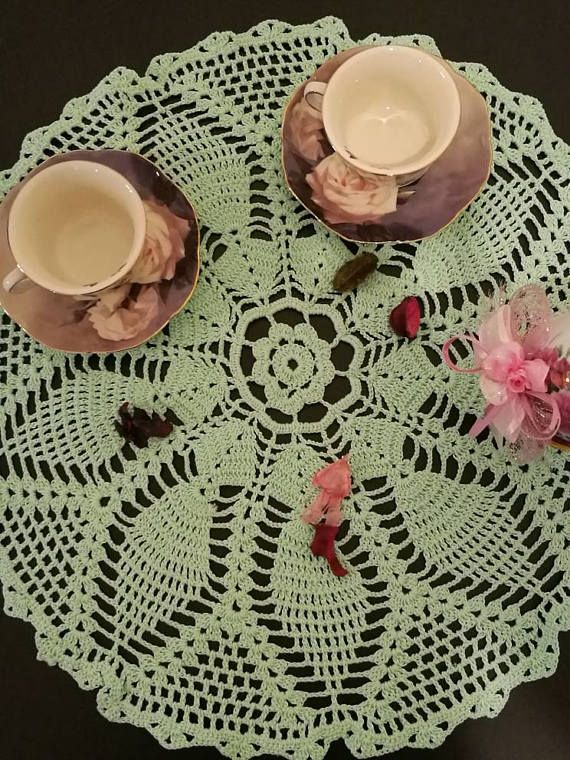 Check out this item in my Etsy shop https://www.etsy.com/listing/523268277/crochet-doily-large-crochet-lace-doily