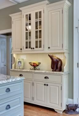 Repurpose Old Cabinets Into Kitchen Hutch