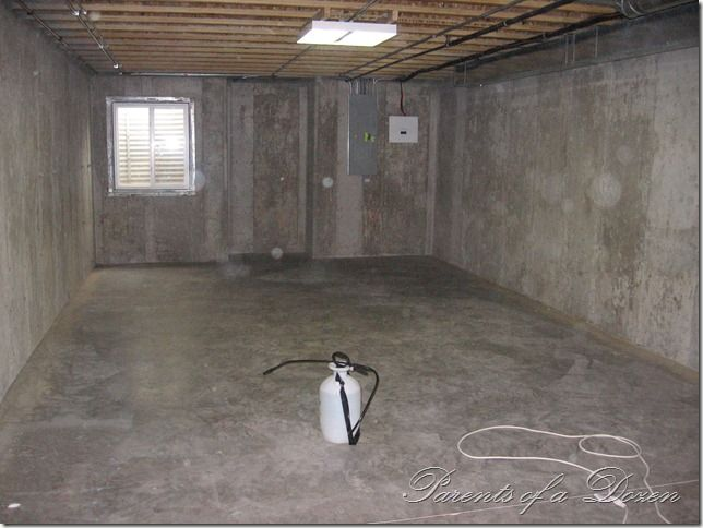 painting an unfinished basement some good tips on the process i rh pinterest com