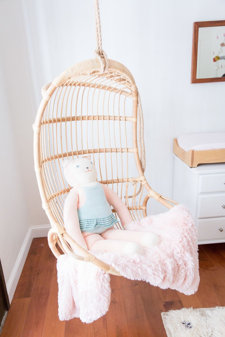 This Baby Girlu0027s Nursery Comes Complete With