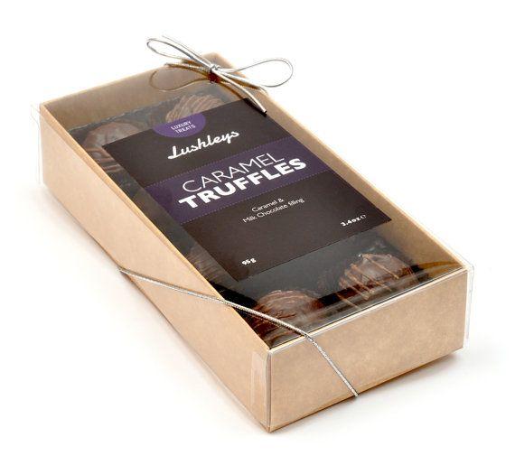 Caramel Truffles  Luxury Treat by Lushleys on Etsy, £5.75