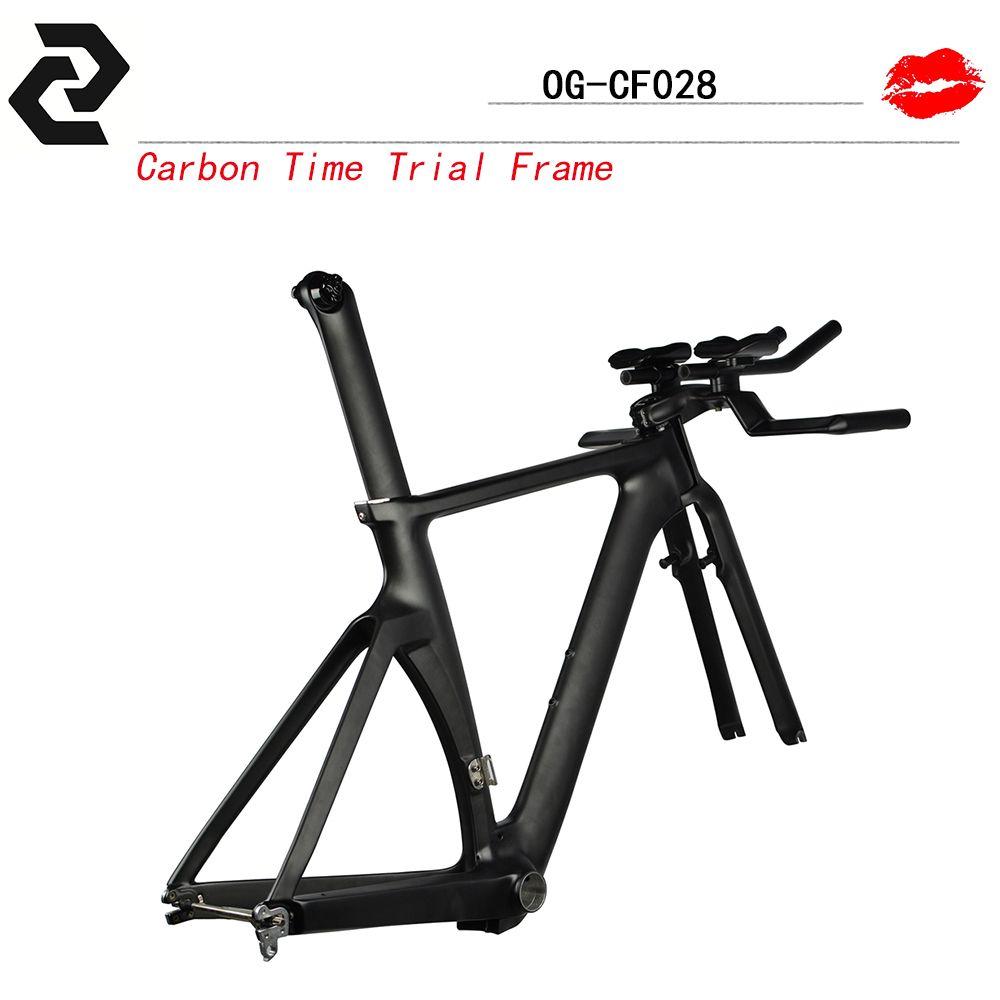 2017 Aero triathlon Carbon TT Frame bikes 700c Carbon Bike Frame ...