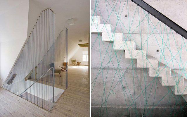 Pasamanos modernos para escaleras de dise o proyectos - Barandillas de diseno ...