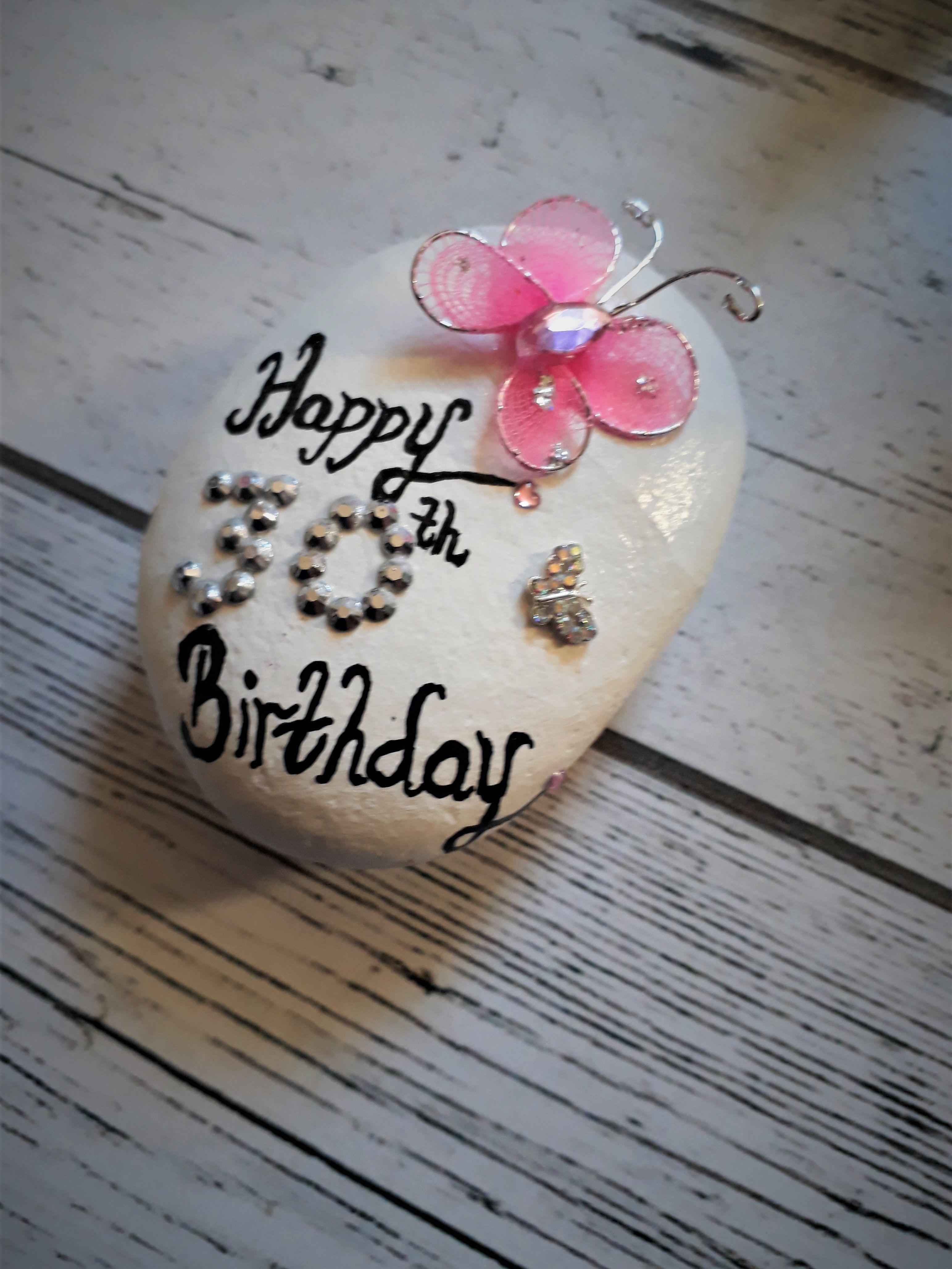 21st 30th 40th 50th birthday pebble magnet gift for women small rh pinterest com