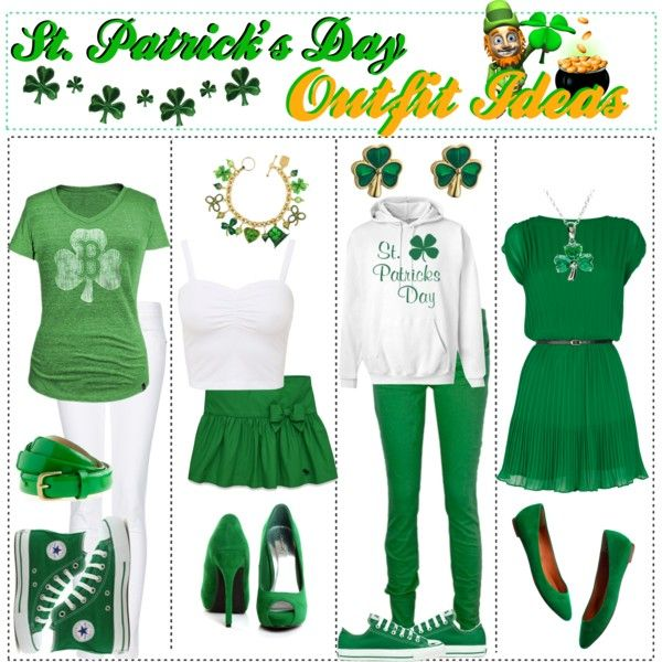St Patricks Day Outfit Ideas Polyvore Springsummer Teen