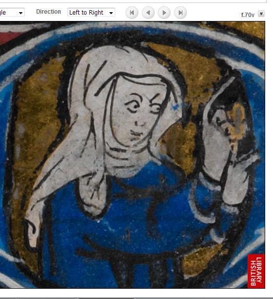 1320 Maastrichter Stundenbuch f70v a