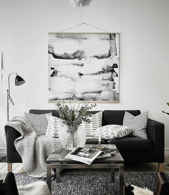 Contemporary Interiors How to Make Monochrome Work For You