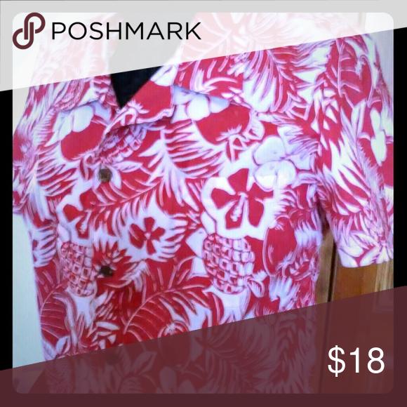 Large Hawaiian shirt Large multicolored Hawaiian shirt Reyn Spooner Tops Button Down Shirts