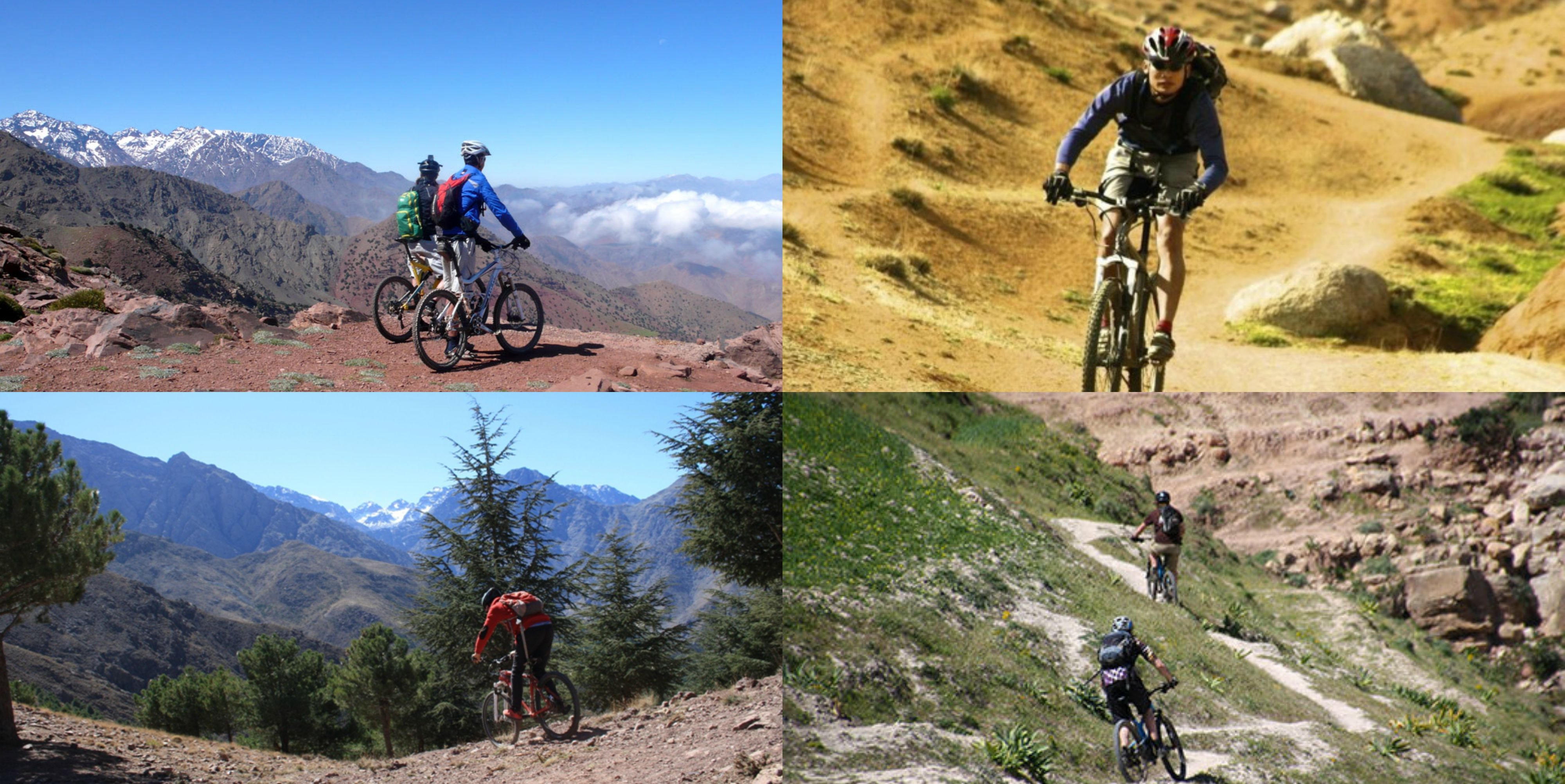 All Inclusive Fully Supported Single Track Mountain Bike Holidays Based In The High Atlasmountains Single Track Mountain Biking Mountain Biking Country Roads