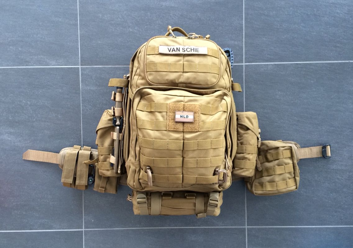 My 5 11 Tactical Rush 24 Bug Out Bag Great For 2 To 3 Day