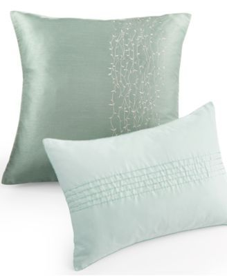 Calvin Klein Nightingale Decorative Pillow Collection Pillows Amazing Calvin Klein Decorative Pillows