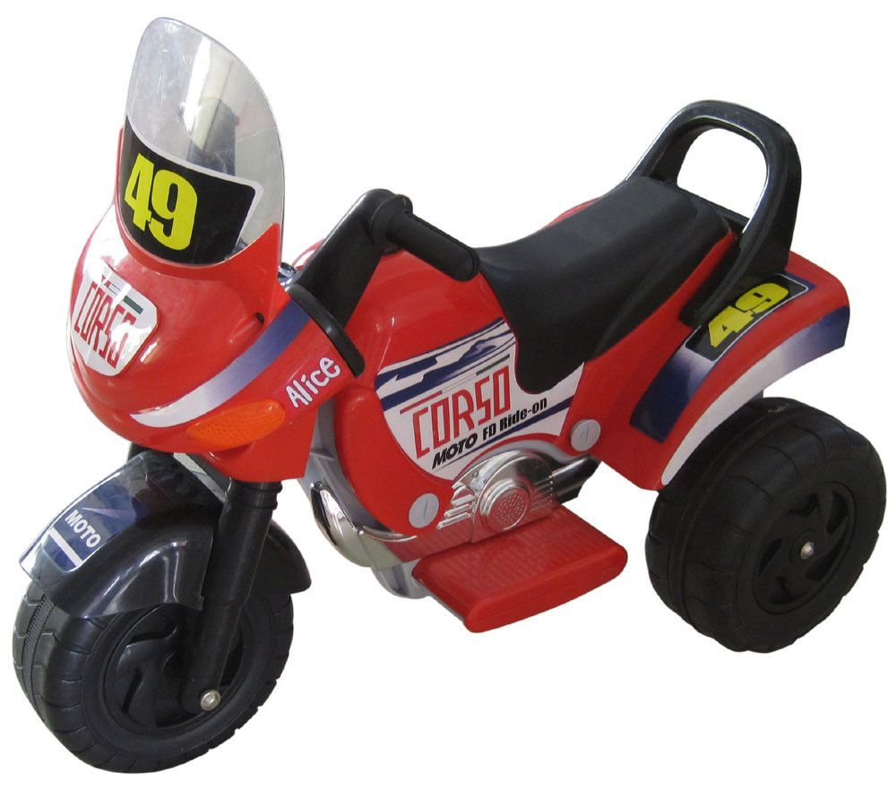 Mini Racer Battery Operated Kids Motorcycle Red