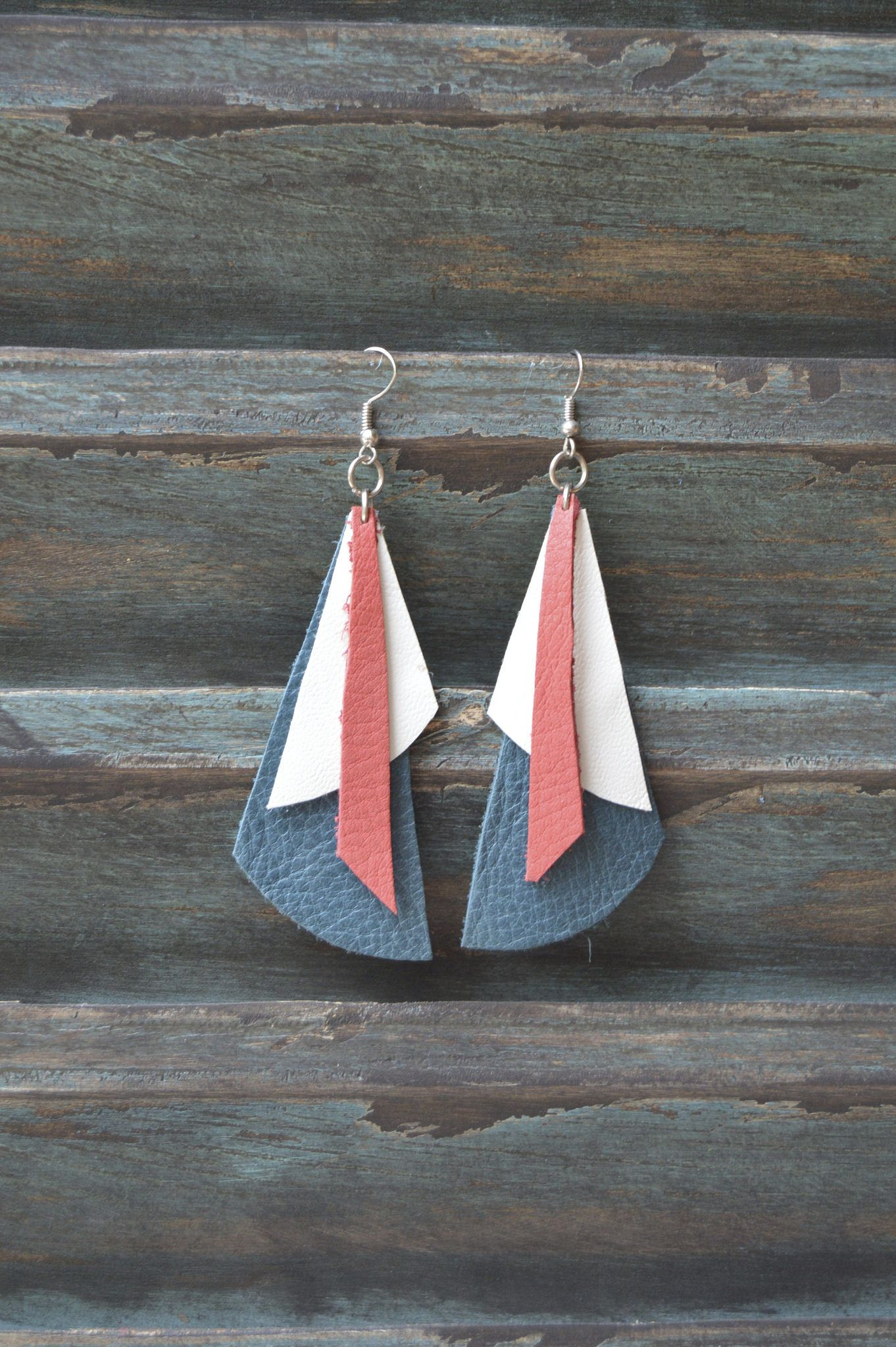 12316c1a7 Handmade Leather Earrings from Thailand #140 · Purchase Effect · Online  Store Powered by Storenvy