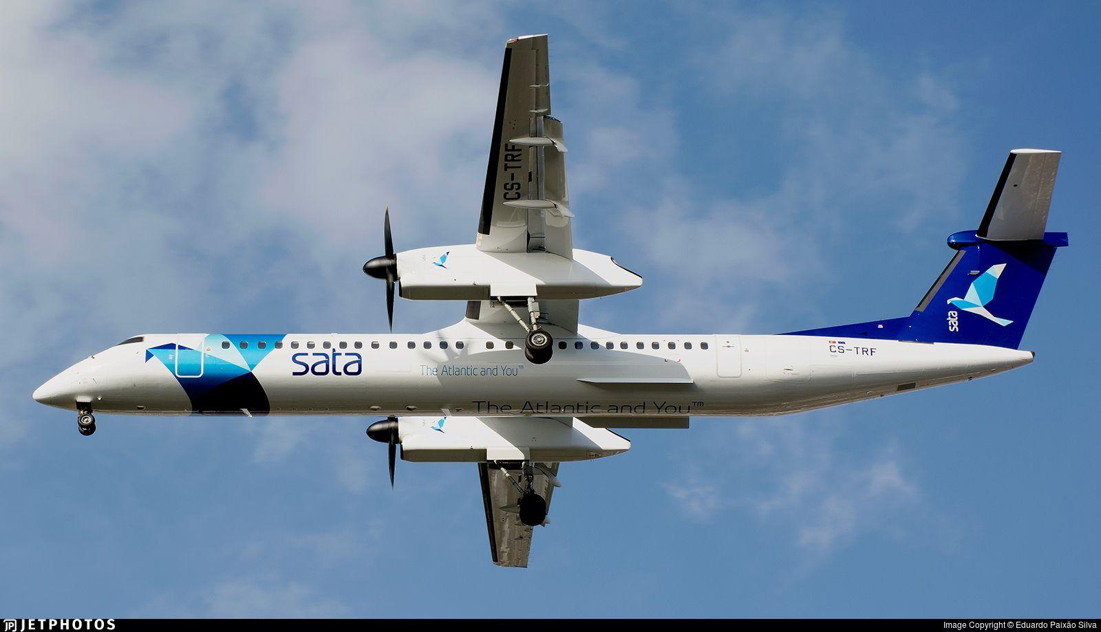 SATA Air Açores Bombardier DHC-8-402 Q400 CS-TRF