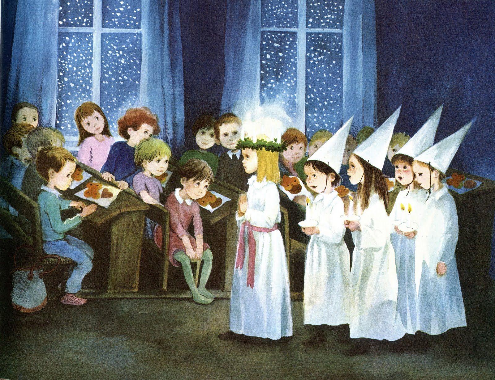 Sankta Lucia - 13 December every year - the saint of Light