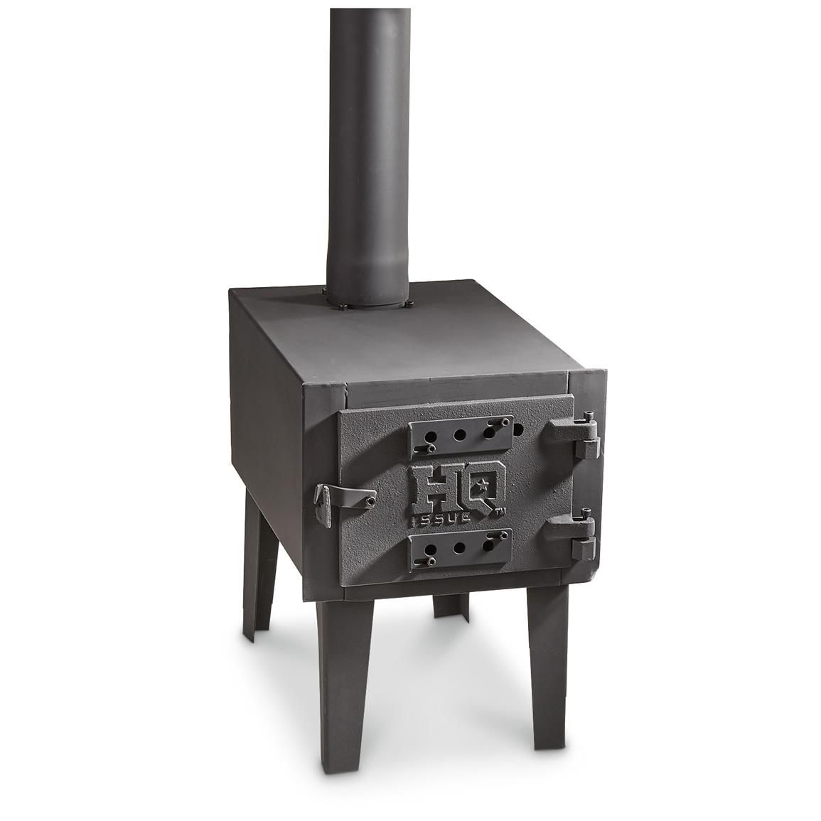 hq issue outdoor wood stove stove woods and treehouse