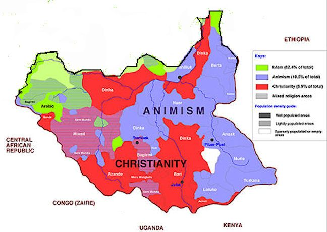 South sudan map religion south sudan pinterest south sudan map religion gumiabroncs Gallery