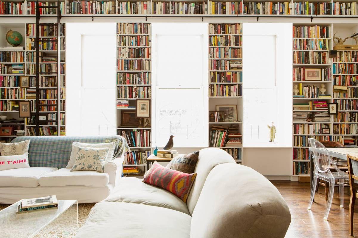 living rooms for book lovers living home libraries bookshelves rh pinterest com