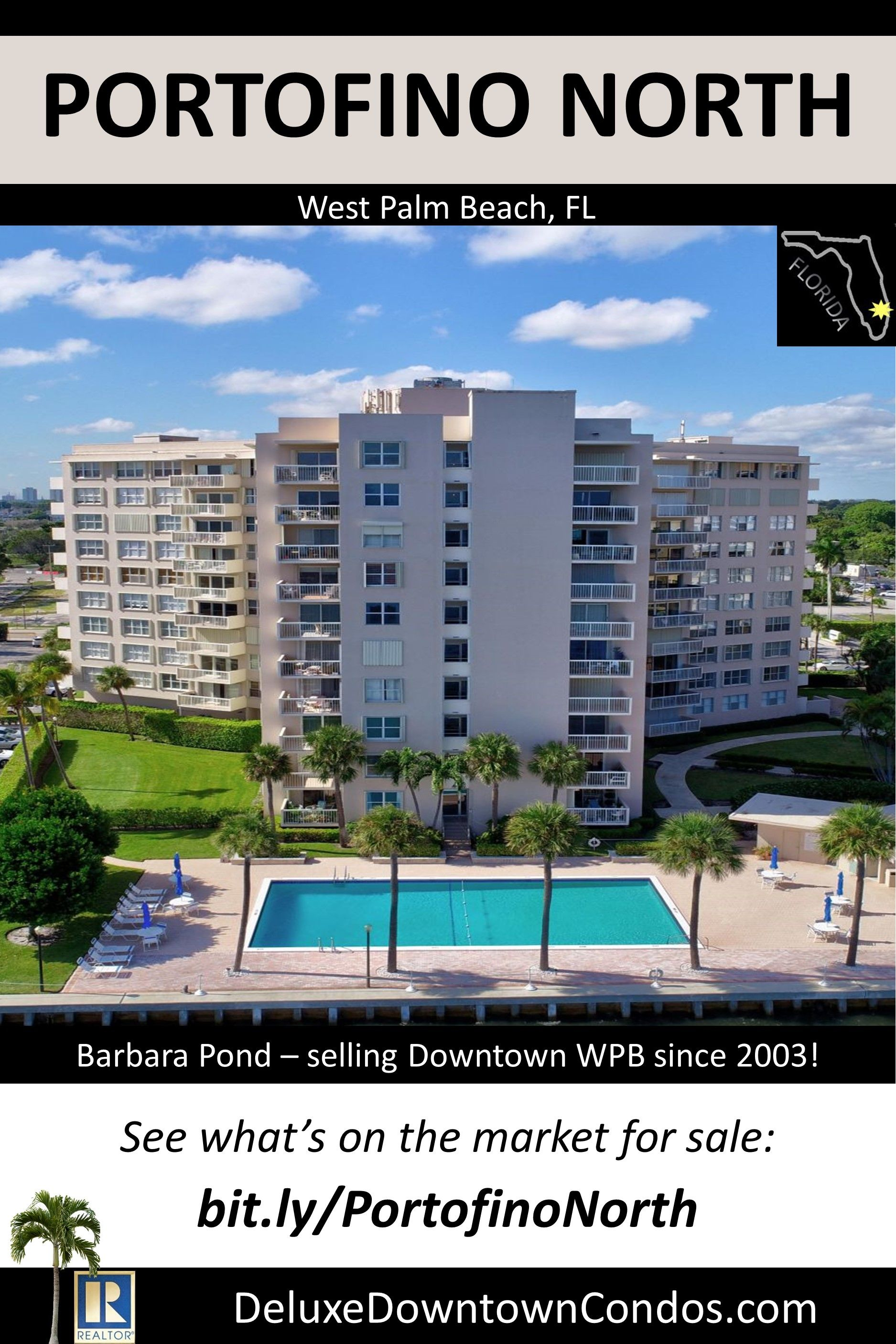 condo building in downtown west palm beach fl live the urban rh pinterest com