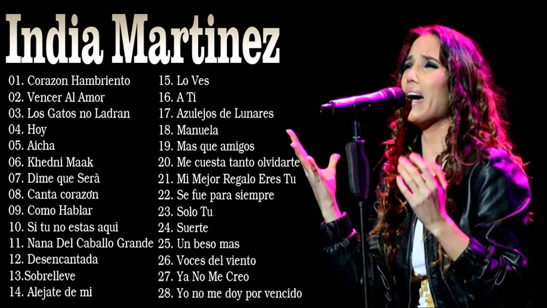 cancion sobrelleve india martinez