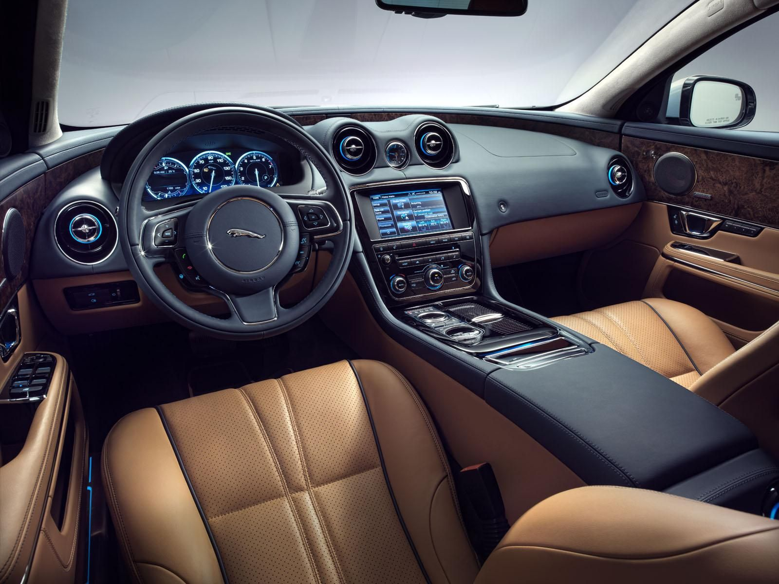 Gallery for jaguar xj interior image