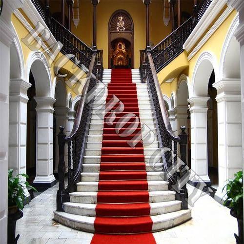 Palace Staircase Computer Printed Backdrop