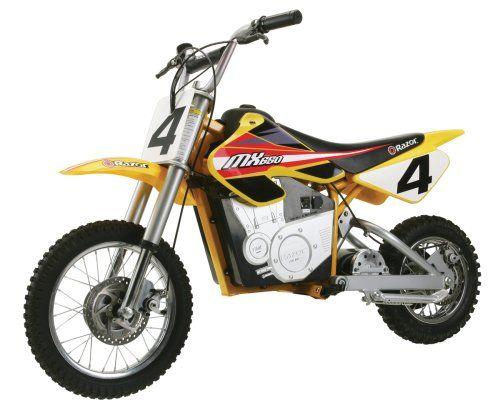 Razor Mx650 Dirt Rocket Electric Motocross Bike Dirt Bikes For Kids Electric Dirt Bike Dirt Bikes