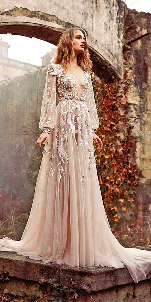 36 Pretty Floral Wedding Dresses For Brides Wedding Forward Applique Wedding Dress Floral Wedding Dress Wedding Dress Trends