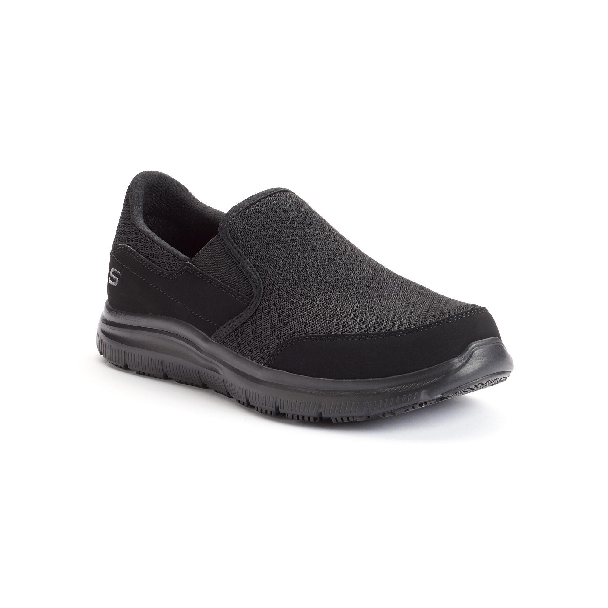Skechers Work Relaxed Fit Flex Advantage McAllen Men\'s Slip ...