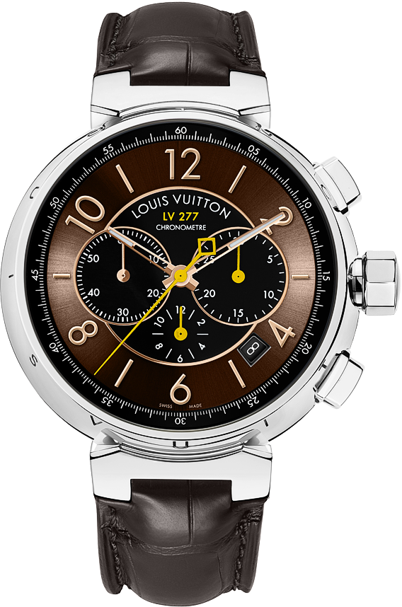4b42992b55005 The Watch Quote  The Louis Vuitton Tambour LV277 Automatic Chronograph watch  - A new design