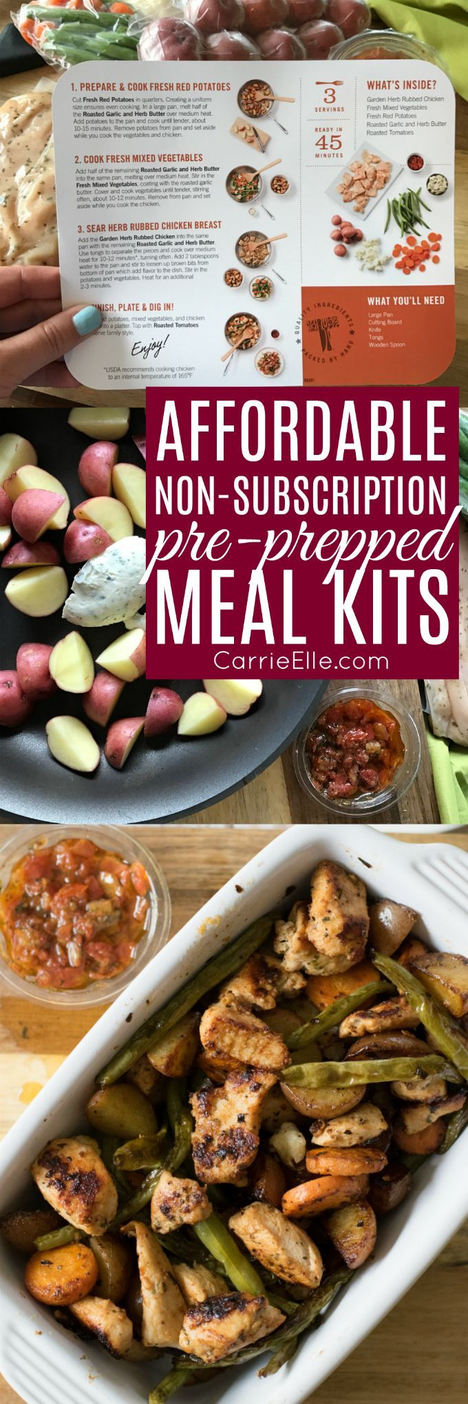 Affordable non subscription pre prepped meal kits meals recipe affordable non subscription pre prepped meal kits forumfinder Images