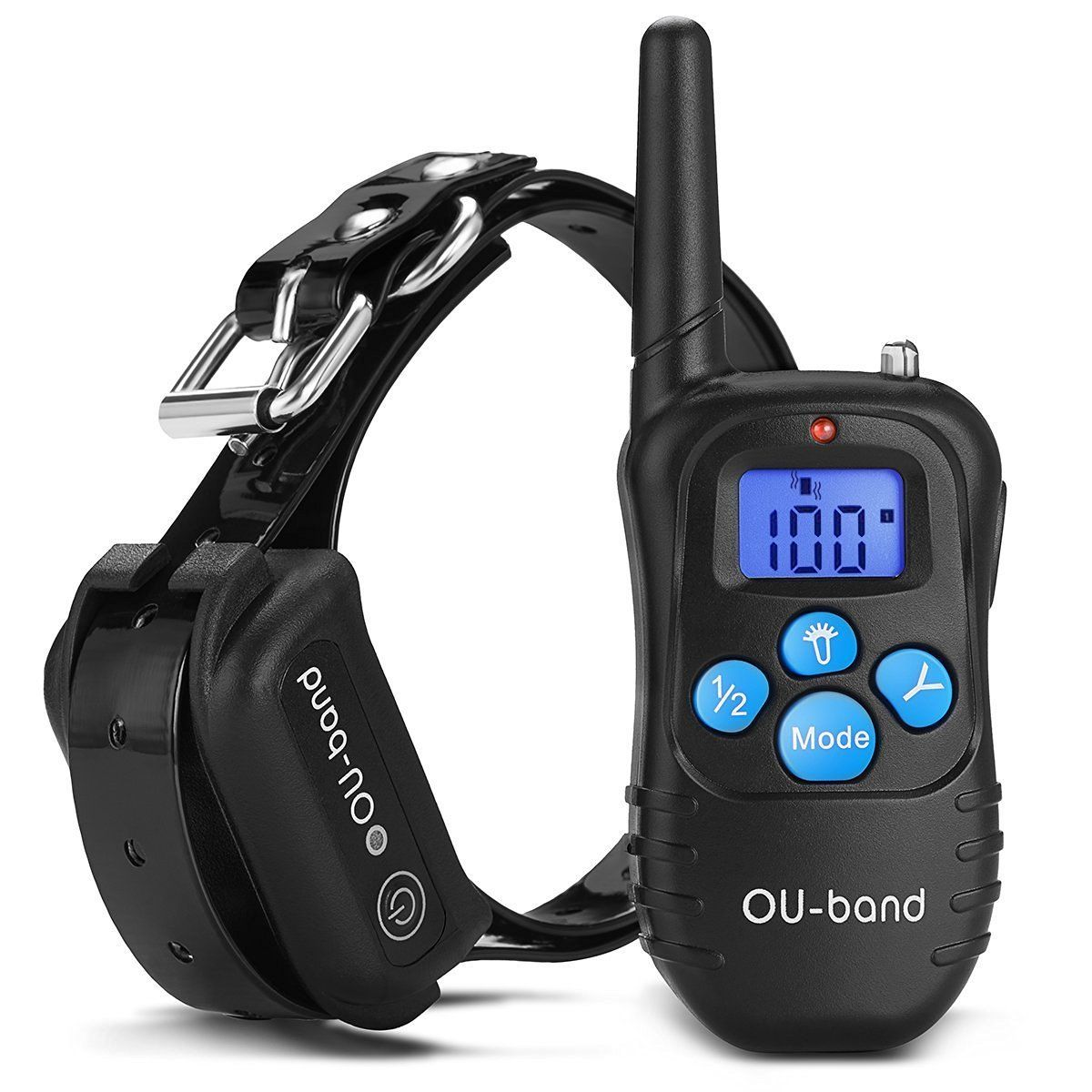 Amazon Com Ou Band Waterproof Rechargeable Remote Dog Training