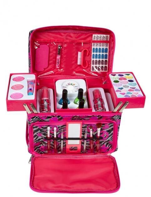 Zebra Print Makeup Mega Kit Shop From Justice Shop Justice Makeup Kit For Kids Kids Makeup