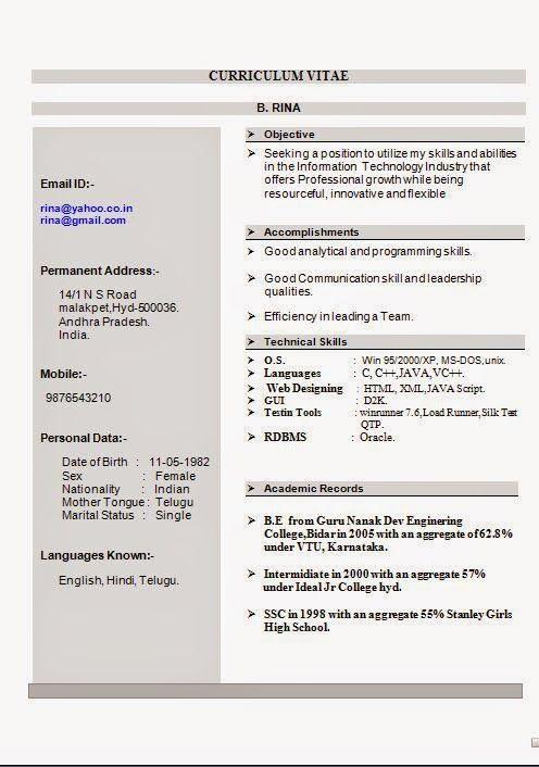 Vtu resume format driving topic essay