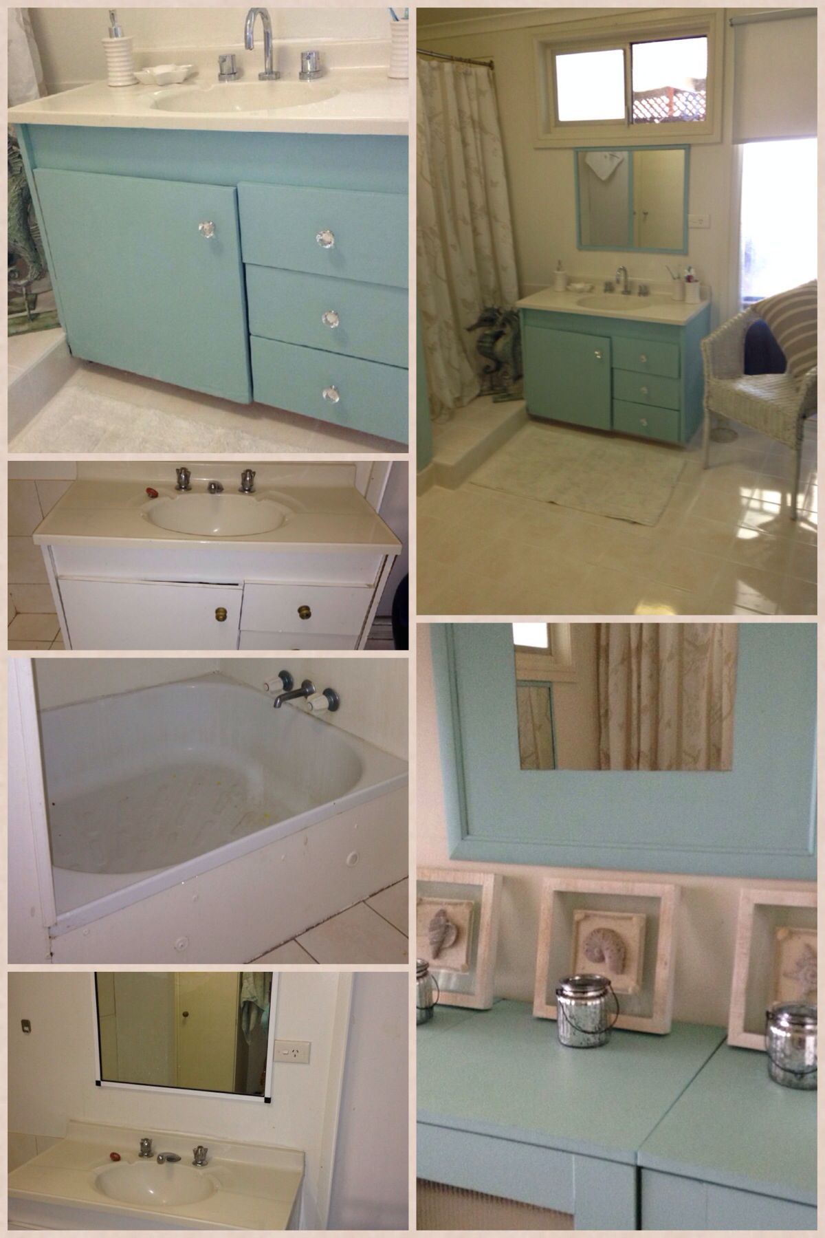 Bathroom Vanity Makeover Diy my bathroom vanity makeover with home made chalk paint | my budget