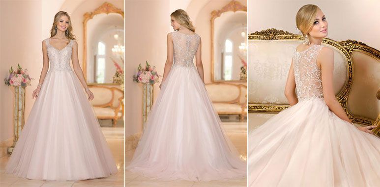 2015 Bridal Gown Trends - Dramatic Back. Stella York Bridal, style ...