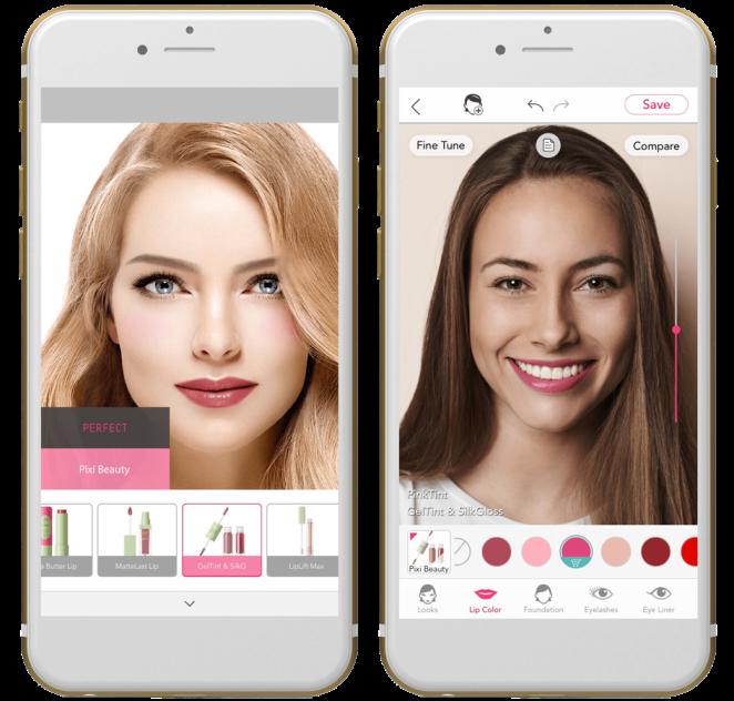 Perfect Corp's virtual makeup app YouCam Makeup allows the