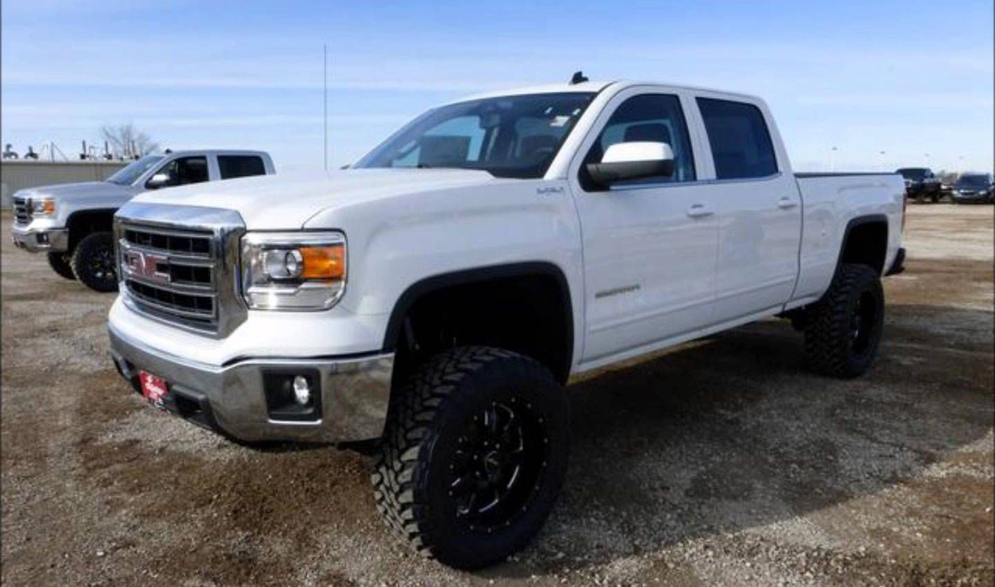 Lifted White Silverado With Images Gmc Trucks For Sale Lifted